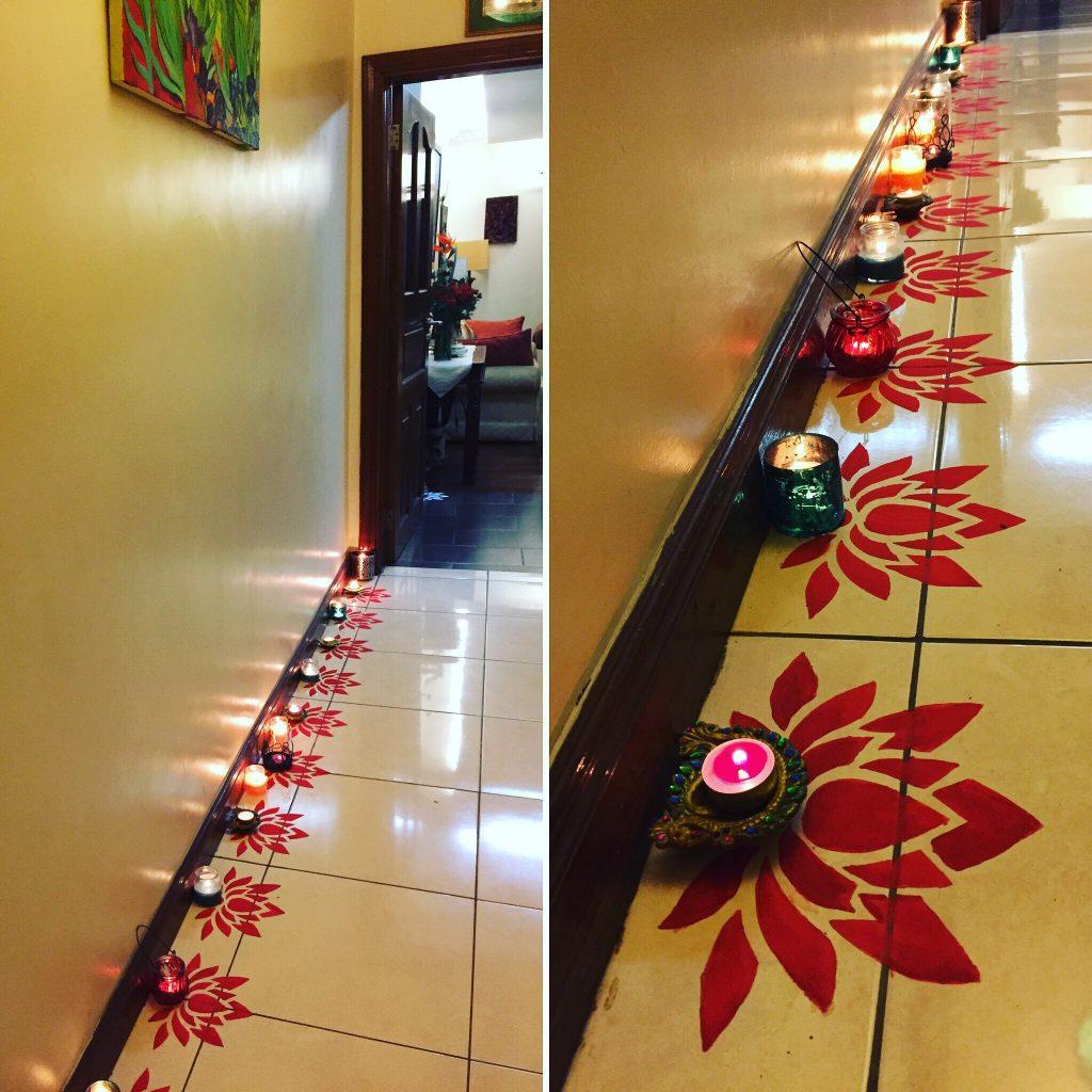 Diy Paper Stencil Rangoli Villa Marigold